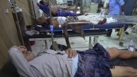 الحديدة.. اصابة سبعة من عمال مجمع إخوان ثابت بقصف للحوثيين (أسماء)