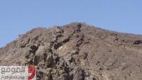 الجيش يستعيد مساحات واسعة في جبل هيلان غربي مأرب
