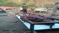 وفاة مواطنين وإصابة العشرات جراء سيول الأمطار في نقيل هيجة العبد بتعز