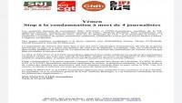 صحفيون فرنسيون: أحكام الحوثيين بإعدام أربعة صحفيين في اليمن انتهاك صارخ لحقوق الإنسان