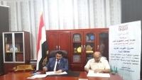 محافظ شبوة يوقع اتفاقية إنشاء محطة كهرباء غازية بالمحافظة