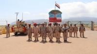 تعيين قائد جديد للواء الأول مشاة بحري في سقطرى عقب تمرد بعض كتائبه