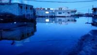 مواطنون في عدن يناشدون لإنجادهم من المياه الطافحة في الشوارع منذ أيام