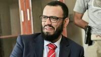 """""""هاني بن بريك"""" يسخر من تحرير التحالف لعدن.. ويمنيون يردون: الكذب في رمضان عيب"""