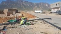 """الصندوق الاجتماعي ينجز مشروع تأهيل مياه """"حديبو"""" في سقطرى"""