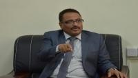 الجبواني يتهم التحالف بنقل كورونا إلى عدن
