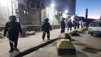 مليشيات الانتقالي تفرق تظاهرة في عدن وتختطف متظاهرين