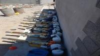 مكتب الشيخ العقربي ينفذ حملة رش ضبابي ونظافة عامة بمديرية البريقة