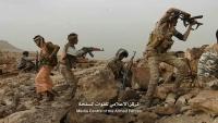 الجيش يتصدى لهجوم حوثي على مواقعه في جبهة قانية بالبيضاء
