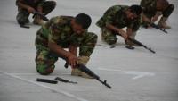 """""""الانتقالي"""" يحشد قواته الأمنية في لحج لرفد الجبهات في أبين"""