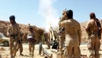 تقدم للجيش الوطني في حريب نهم غربي مأرب