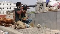 مقتل ستة حوثيين في معارك مع الجيش الوطني في تعز