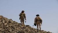 مقتل 20 حوثياً بنيران الجيش الوطني في جبهة نهم شرق صنعاء