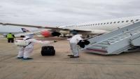 وصول أول طائرة تقل 152 مسافراً من العالقين في الأردن بسبب كورونا (صور)