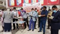 الحكومة تدعم محافظة شبوة بمعدات طبية لمواجهة كورونا