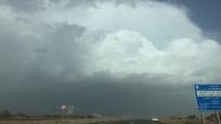 تحذيرات من اجتياح المنخفض الجوي محافظة حضرموت