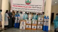 """""""لجنة الاعتصام"""" تدعم مكتب الصحة بالمهرة بأجهزة طبية ومعدات خاصة بمكافحة كورونا"""
