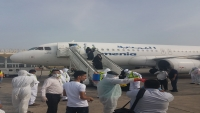وصول 151 مسافراً من العالقين في مصر بسبب كورونا إلى مطار عدن