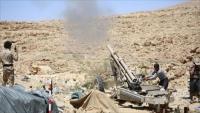 مقتل العشرات من الحوثيين وتدمير 12 طقما و5 عربات بنيران الجيش في نهم