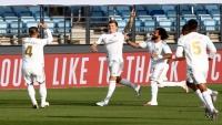 ريال مدريد يتمسك بمطاردة برشلونة على صدارة الليغا