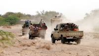 مقتل قيادي حوثي بنيران الجيش في جبهة نهم والأخير يتقدم