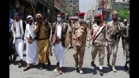 """الآلاف يشيعون القيادي في مقاومة تعز """"أبو الصدوق"""" إلى مثواه الأخير في صبر"""