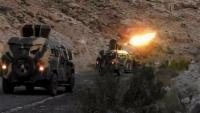 الجيش يعلن السيطرة على عربات مدرعة تابعة للحوثيين في جبهة نهم