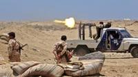 إصابة قائد اللواء العاشر صاعقة التابع للانتقالي بمواجهات مع الجيش في أبين