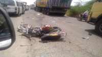 وفاة مواطنين اثنين بعملية دهس لطقم يتبع الانتقالي في أبين