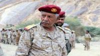 نجاة قائد محور بيحان اللواء الركن مفرح بحيبح من محاولة اغتيال في المكلا