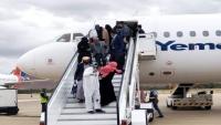 وصول 319 مسافراً من العالقين في مصر إلى اليمن