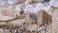 """عسكرة الكتاب المقدس بين إسرائيل والولايات المتحدة.. كيف يستخدم الاحتلال """"سفر يشوع"""" لقضم الأراضي الفلسطينية؟"""