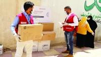 الهلال الأحمر القطري ينفذ مشاريع صحية لمواجهة كورونا باليمن
