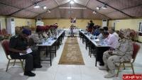 حضرموت.. اللجنة الأمنية تدعو للتنسيق بين الأجهزة الأمنية والعسكرية والمخابرات