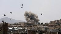 مقتل 12 مدنياً بقصف للتحالف استهدف قرية بالحزم في الجوف