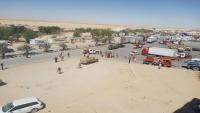 قبليون يمنعون قوات سعودية من الوصول لمنفذ شحن الحدودي مع عمان