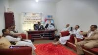 اللجنة العليا للإغاثة بمحافظة إب تجتمع لمناقشة الوضع الإنساني للمحافظة