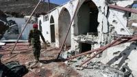 مقتل 5 جنود وإصابة آخرين بصاروخ حوثي استهدف مسجدا في مأرب