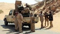 القوات الحكومية تحبط هجوما للانتقالي في أبين