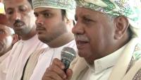 رئيس مرجعية قبائل وادي حضرموت يشدد على نيل المحافظة حقها في التمثيل الحكومي