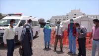 عدن .. تجهيز مستشفى ميداني لعلاج الحميات بسعة 70 سريرا بدعم من الصليب الأحمر