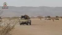 الجيش اليمني يتقدم باتجاه الحزم في الجوف