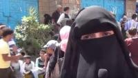 """حياة الذبحاني في حوار مع """"الموقع بوست"""": منظمات الإغاثة شريكة في تجويع تعز وثانوية تعز فضحت الإمارات"""