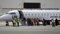وصول 268 جريحا وعالقا إلى مطار صنعاء الدولي