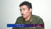 ضابط متهم بنشر فيديو مقتل الأغبري يضرب عن الطعام في صنعاء