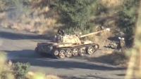 الجيش الوطني يحرز تقدما ميدانيا في الضالع ومصرع أكثر من 20 حوثيا