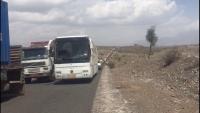 لجنة وساطة قادمة من صنعاء تنجح في فتح طريق الضالع – إب المقطوعة منذ أكثر من عام