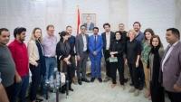 وفد دولي من صحفيين وباحثين يصل محافظة شبوة للمرة الأولى