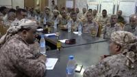بقرار جمهوري غير معلن.. مراسم استلام وتسليم بين قائد العسكرية الثالثة الجديد والسابق