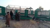 """تقرير حقوقي يسلط الضوء علىالانتهاكات المشتركة للحوثيين وداعش في """"قرية حميضة"""" بالبيضاء"""